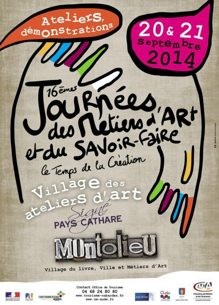 Montolieu art day Sep